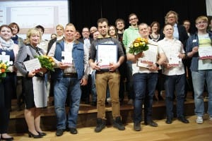 Gewinner und Teilnehmer des Wettbewerbs